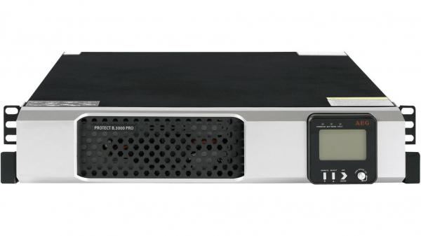 UPS AEG Protect D 3000 VA, 2700 W, Online Dubla conversie, Repornire automata, Management, USB, pentru Server, UK Power Cord 1