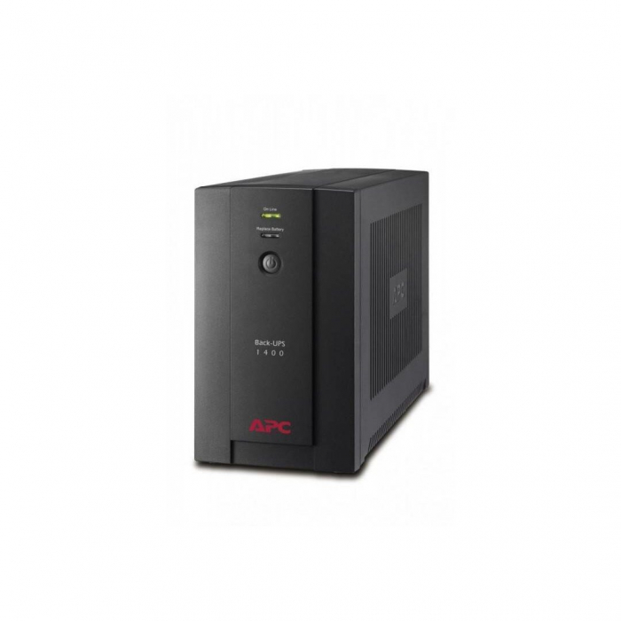 UPS APC Back-UPS 1400, 230V 1400 VA, 700 W, USB, RJ11 [2]