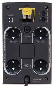 UPS APC Back-UPS 1400, 230V 1400 VA, 700 W, USB, RJ11 [1]
