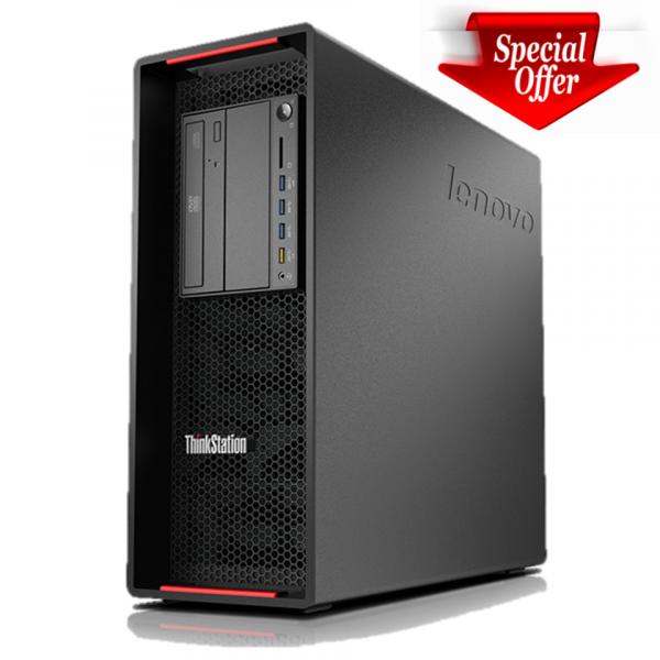 Workstation LENOVO ThinkStation P700 2x Intel Xeon 6-Cores E5-2620v3 3.20 GHz, 16 GB DDR4 ECC, 240 GB SSD NOU 0