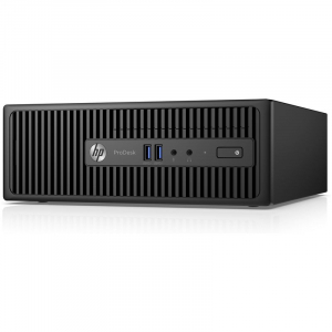 Sistem PC Refurbished HP ProDesk 400 G3 SFF, Intel Core i5-6500 3.20 GHz, 8GB DDR4, 128 SSD [0]