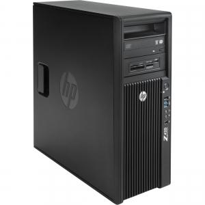 HP WORKSTATION Z420 Intel Xeon Quad Core E5-1603, 16GB ddr3 , 120 SSD NOU + 500Gb  NVIDIA Quadro K6200