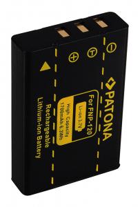 Acumulator Patona pentru Fujifilm NP-120 FinePix 603 F10 F11 NP-120 NP-120 Pentax NP-1202
