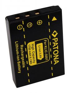 Acumulator Patona pentru Kodak Klic-5001 Easyshare DX6490 DX7590 DX7630 Z7302