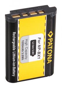 Acumulator Patona pentru Sony NP-BX1 BX BX1 NP-BX1 Cyber-shot AS100VR AS15 AS20 AS2002