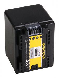 Acumulator Patona pentru Canon BP-727 Legria HF R36 HF306 HF38 HF406 HF48 HFM506 HFM522