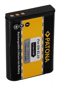 Acumulator Patona pentru Nikon EN-EL23 Coolpix p6002