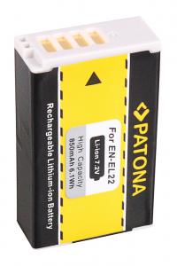 Acumulator Patona pentru Nikon EN-EL22 1 J4 S2