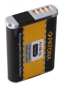 Acumulator Patona pentru Canon NB-12L Legria Mini X NB-12L PowerShot G1 X Mark II NB-12L1