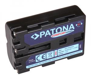 Acumulator Patona Confort pentru Sony NP-FM500H Alpha 57 65 77 99 DSLRA100 DSLR-A100 DSLRA100H0