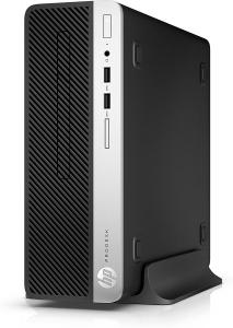 Sistem Desktop PC HP ProDesk 400G5 Small Form Factor ,Procesor Intel® Core ™ i5-8500 (3,0 GHz pana la 4,1 GHz, 9 MB cache, 6 nuclee),8GB DDR4 , 256 SSD GB PCIe® NVMe ™ , DVD/RW ,Windows 10 Profesional0
