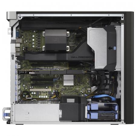 Workstation Refurbished DELL Precision T5810, Intel HEXA Core Xeon E5-1650 v3 3.50 GHz, 32GB DDR4 ECC, 512GB SSD, nVIDIA Quadro M4000, 8 GB, GDDR5 / 256 bit, Win 10Pro [1]