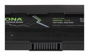 Acumulator Patona Premium pentru Asus A32-K53 A43 A43B A43BY A43E A43F A43J A43JA [2]