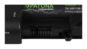 Acumulator Patona Premium pentru Lenovo T61 92P1126 Thinkpad R400 7443 R400 widescreen 14 inch [2]
