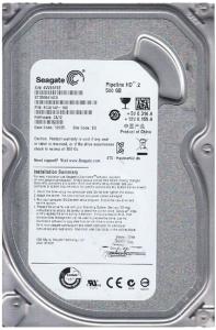 HDD SEAGATE 500GB 16MB Cache 3.5 INCH0