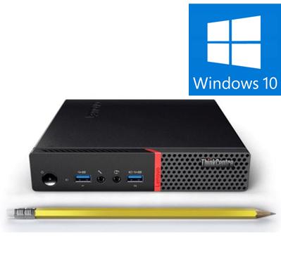 Calculator REFURBISHED Lenovo ThinkCentre M910Q Mini PC, Intel Core i5-7500T 2.70GHz, 8GB DDR4, 256 SSD, Win 10 PRO [0]