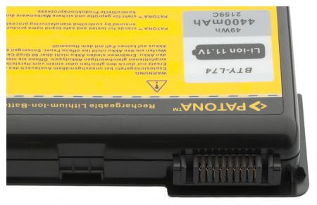 Acumulator Patona pentru MSI A5000 A6000 A6200 CR600 CR620 CR700 CX700 BTY-L74 BTY-L75 MS-16824