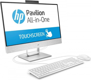 "All-in-One HP Pavilion 24x055ng, i3-7100T, 23,8 "" FHD (1920x1080), RAM 8GB DDR4, HDD 1TB+ 16GB Intel Optane, Windows 10 Home,Tastatura in limba Germana2"