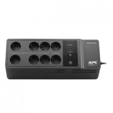 APC Back-UPS 850VA, 230V, USB Type-C and A charging ports, 230V 850 VA, 520 W0