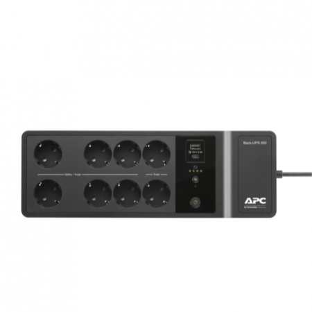 APC Back-UPS 850VA, 230V, USB Type-C and A charging ports, 230V 850 VA, 520 W1