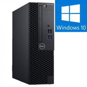 Calculator Refurbished Dell OptiPlex 3040 SFF Intel Core i3-6100, 4GB DDR3, 500GB HDD Windows 10 Pro0