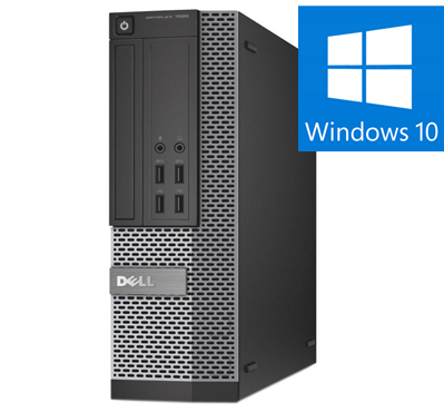 Calculator Refurbished Dell OptiPlex 7020 Mini-Tower Intel Core i5-4590, 8GB DDR3, 128 SSD, Win 10 Pro0