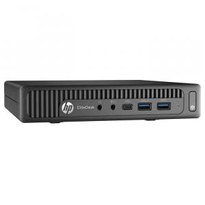 Calculator Refurbished  HP EliteDesk 800 G2 USDT Intel Core i3-6100, 8GB DDR4, 500GB HDD, Windows 10 Pro0