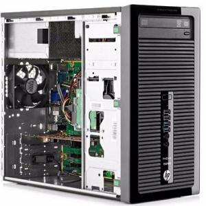 Calculator Refurbished HP ProDesk 400 G1 Tower Intel Core i3-4130, 4GB DDR3, 500GB HDD1