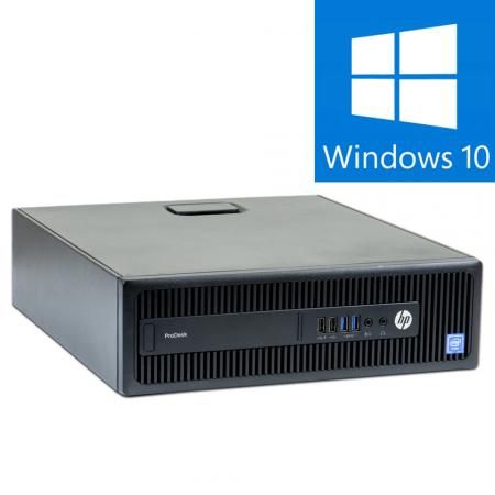 Calculator Refurbished  HP ProDesk 600 G2 SFF Intel Core i5-6500, 8GB DDR4, 240GBSSD, Win 10 PRO [0]