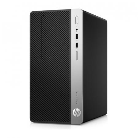 Sistem REFURBISHED PC HP ProDesk 400 G6 cu procesor Intel® Core™ i5-9500 pana la 4.40 GHz, Coffee Lake, 8GB DDR4, 256GB SSD, Intel® UHD Graphics 630, Microsoft Windows 10 Pro [1]