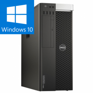 DELL PRECISION T5810 INTEL XEON E5-1620 V3 3.50GHZ /16GB DDR4 / 240 SSD + 2000GB HDD / QUADRO K4200 4Gb/256 biti / Windows 10 PRO0