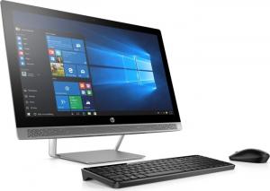 Desktop All-in-One HP ProOne 440 G3 Display ( 1920x1080 ) 23.8inch,  Core i3-7100T, 8GB RAM DDR4, 256GB SSD, Windows 10 Home2