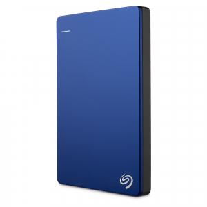 "HDD extern Seagate Backup Plus Slim Portable, metalic, 2TB, 2.5"", USB 3.0,Albastru7"