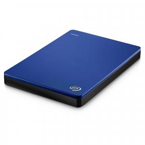 "HDD extern Seagate Backup Plus Slim Portable, metalic, 2TB, 2.5"", USB 3.0,Albastru5"