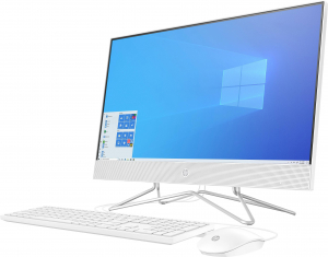 Sistem All-in-one PC HP 24-df0010ng 60.5 cm (23.8 inch) Intel Core i5 i5-1035G1 8 GB 512 GB SSD Intel UHD Graphics Windows® 103