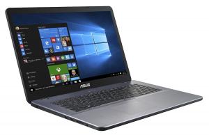 """Laptop ASUS F705UA-BX831T, 17,3"""", Intel Pentium Gold 4417U, RAM 4 GB DDR4, HDD 1TB, Windows 10 Home, tastatura in limba germana1"""