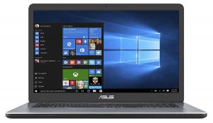 """Laptop ASUS F705UA-BX831T, 17,3"""", Intel Pentium Gold 4417U, RAM 4 GB DDR4, HDD 1TB, Windows 10 Home, tastatura in limba germana0"""