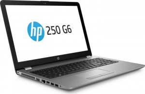 "Laptop HP 250 G6, i3-7020U, 15,6 ""(1920x1080), RAM 8GB DDR4, HDD 1TB + 128GB M.2 SATA, Windows 10 Home, Tastatura in limba Germana1"