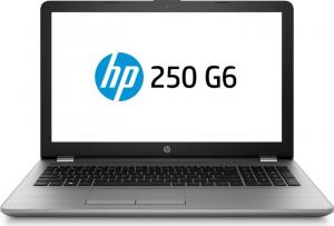 """Laptop HP 250 G6, Intel Core i5-7200U 2.50GHz, 15.6"""", Full HD, 8GB, 256GB SSD, DVD-RW, Intel HD Graphics, Microsoft Windows 10 Home, Tastatura in limba Germana0"""