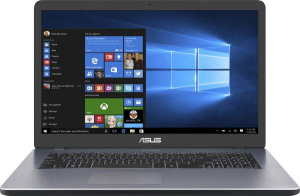 Laptop Asus Vivobook 17 F705QA-BX140T Gri, AMD A12-9720P, 8 GB DDR4, 256 GB SSD, Windows 10 Home0