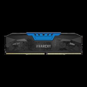 Memorie desktop PNY Anarchy 8GB Kit (2x4GB) PC4-19200 2400MHz CL15 DDR4 Albastru DIMM0