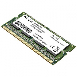 Memorie Ram laptop PNY 8GB DDR3 SO-DIMM 1600MHz PC3L0