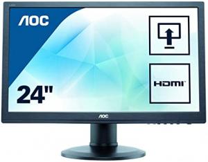Monitoare REFURBISHED LCD AOC E2460P, 24 inch, Full HD0