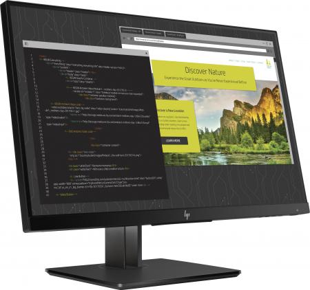 """Monitor HP IPS LED 23.8"""" Z24nf G2, Full HD (1920 x 1080), VGA, HDMI, DisplayPort, USB 3.0, Pivot, 5 m [1]"""