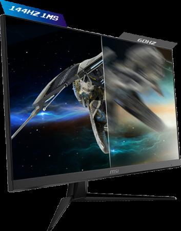 "Monitor Gaming IPS LED MSI Optix 23.8"" G241, Full HD (1920 x 1080), HDMI, DisplayPort, 144 Hz, 1 ms (Negru)  ( 184540 ) [1]"
