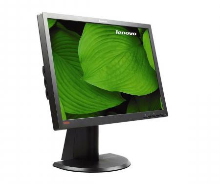 "Monitor LED Lenovo LT2452p 24"" FullHD, 7ms, 300cd/m2, VGA, DVI-D, DisplayPort  negru3"