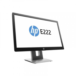 "Monitor Refurbished HP E222, 21.5"", 1920 x 1080, VGA, HDMI, Display Port1"