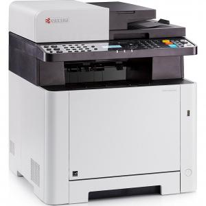 Multifunctional laser color Kyocera ECOSYS M5521cdn, duplex, retea, A42