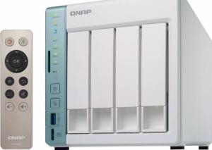 NAS Qnap TS-451A-2G, Intel Celeron N3060 Dual-Core, 2GB RAM, 4-Bay, 2 x Gigabit LAN, 3 x USB 3.0, 1 x HDMI1