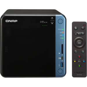 NAS Qnap TS-453B, Intel Celeron J3455 1.5GHz, 8GB DDR3L, 4 Bay, 5 x USB 3.0, 1 x USB Tip C, 2 x LAN, 2 x HDMI0